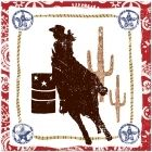 Rodeo Cowgirl Lunch Napkins (16)