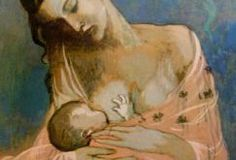 Breastfeeding by Pablo Picasso.