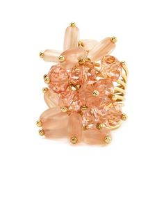 Bead Cluster Coil Ring: Charlotte Russe