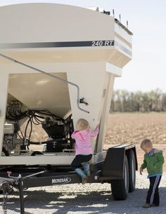 Kids on Farm equipment featured on Stirlist.com #CommmonGroundNebraska #Nebraska #farm #food #familyfarm #kids #farmkids