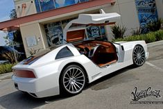 The World Famous West Coast Customs - luxury automotive restyling center based in Corona, California. There is no limit to what we can do. Dmc Delorean, Delorean Time Machine, Dmc Car, West Coast Customs, Automobile, Classic Hot Rod, Classic Cars, Design Fails, Sweet Cars