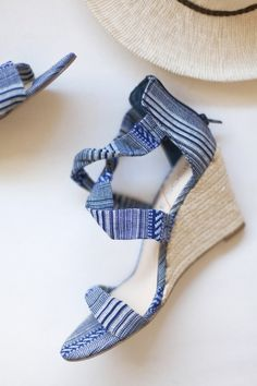 A Clean Look At The Espadrille Wedge