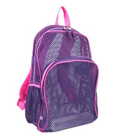 Look what I found on #zulily! Blackberry Mesh Backpack by Fuel by Eastsport #zulilyfinds
