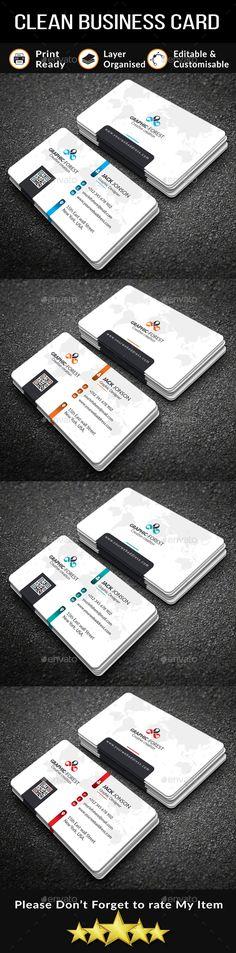 Business Card Template PSD, Vector EPS, AI Illustrator