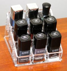 container store nail polish storage
