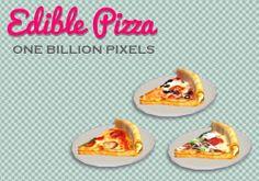One Billion Pixels: Edible Pizza