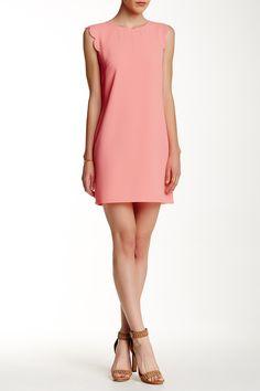 Scalloped Sleeveless Shift Dress by EVERLY on @nordstrom_rack