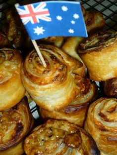 Toddler Time: Australia Day Cooking ~ Cheese and Vegemite Scrolls