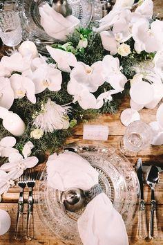 Wedding Photographer in Greece Santorini & Greek Islands Snowy Wedding, Wedding Dinner, Wedding Table, Santorini Greece, Greek Islands, Dinner Table, Floral Wedding, Affair, Wedding Styles