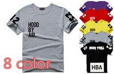 Hood By Air X Been Trill 2015 PRINT Men tops Brand men 100% COTTON sport t shirt CASUAL Short sleeve men t-shirts tops 8 colors - http://www.aliexpress.com/item/Hood-By-Air-X-Been-Trill-2015-PRINT-Men-tops-Brand-men-100-COTTON-sport-t-shirt-CASUAL-Short-sleeve-men-t-shirts-tops-8-colors/1714780270.html