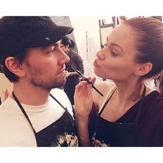 .@Alyssa Campanella / Jumpers & Jasmine | I thinka I'ma painta your face @torrancecoombs | Webstagram