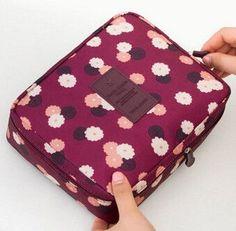 FLYING BIRDS! Cosmetic Bags Multifunction wash bag Women Makeup portable Bag toiletry Storage waterproof Travel Bags LS8973fb
