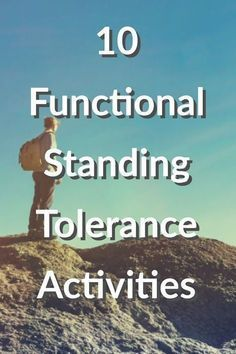 10 Functional Standing Tolerance Activities for Occupational Therapy Pracititioners Vestibular Activities, Group Therapy Activities, Occupational Therapy Activities, Ot Activities For Geriatrics, Motor Activities, Physical Activities, Ot Therapy, Therapy Games, Therapy Ideas