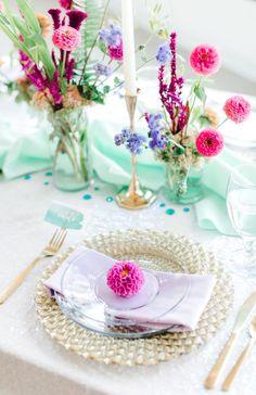 MERMAID THEMED WEDDING IDEAS | Bespoke-Bride: Wedding Blog Wedding Event Planner, Wedding Coordinator, Wedding Events, Catering Ideas, Bright Flowers, Banquet, Event Design, Napkin, Wedding Designs
