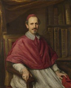 Cardinal Carlo Cerri  Jakob Ferdinand Voet (1639–c.1700)  The National Gallery, London