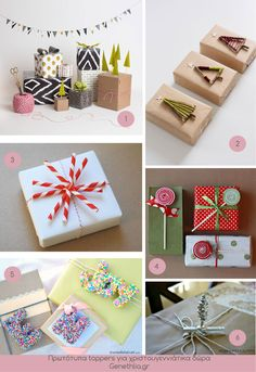 cristmas gift toppers