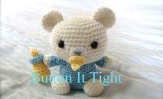 SwEEt *Teddy Bear with Pacifier Dummy 3698 CROCHET PATTERN* - Instant Download