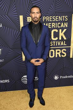 Omari Hardwick - BET's American Black Film Festival Honors Red Carpet Was On Fire
