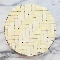 herringbone lattice pie from Serious Eats                                                                                                                                                                                 More                                                                                                                                                                                 More
