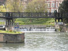 The locks at Jesus green #cambridge