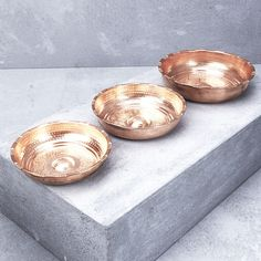 Hand Crafted Copper Hamam Bowl from INARTISAN