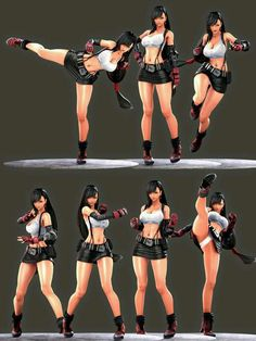 Tifa Final Fantasy, Final Fantasy Girls, Final Fantasy Artwork, Final Fantasy Characters, Female Characters, Anime Characters, Female Character Design, Character Design Inspiration, Character Art