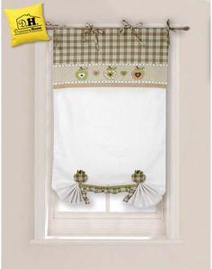 allegra tenda finestra 60 x 160 della collezione san gallo in ... - Tende Per Finestra Cucina