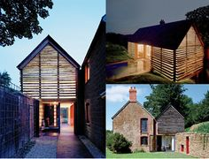the Dairy House in Somerset England, architect Skene Catling de la Peña