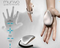Munivo handheld navigation device directs the blind to walk free
