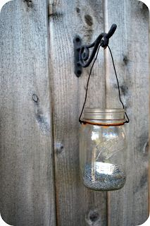 Little Katie on the Prairie: Repurposed Jars