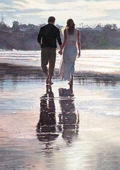 Steve Hanks Living the Dream painting for sale, this painting is available as handmade reproduction. Shop for Steve Hanks Living the Dream painting and frame at a discount of off. Simple Oil Painting, Dream Painting, Easy Canvas Painting, Painting Flowers, Painting Art, Foto Art, Beginner Painting, Watercolor Artists, Couple Art
