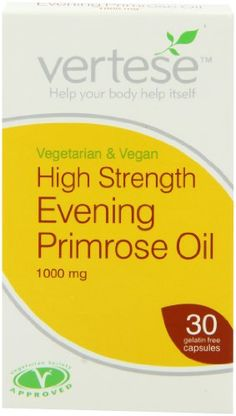 Vertese 1000mg Evening Primrose Oil 30 Vegetable Capsules has been published at http://www.discounted-vitamins-minerals-supplements.info/2013/05/22/vertese-1000mg-evening-primrose-oil-30-vegetable-capsules-2/