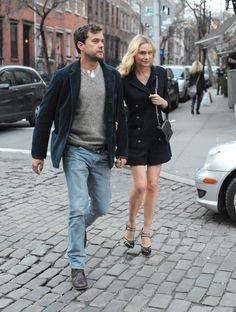 Diane Kruger and Joshua jackson Share a Big Apple Dinner Date | Pictures