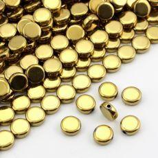 Hematyt moneta złota 10mm Eyeshadow, Stone, Beauty, Eye Shadow, Rock, Eye Shadows, Stones, Beauty Illustration, Batu