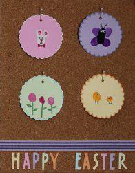 Thumbprint Art for Easter   AllFreeHolidayCrafts.