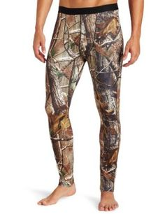 Columbia Men`s Camo Heavyweight Tight with Fly Base Layer $27.41 - $32.25...hunting season... Adam needs a couple of these he always forgets/loses them right before he leaves to hunt