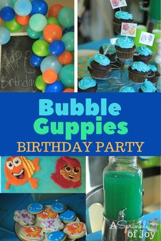 Looking to throw a Bubble Guppies Birthday party? We threw one for Annabelle, and I've got quick and simple ideas for you to do the same.