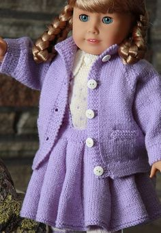Knitting Patterns Free American Girl Doll Images