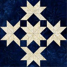 = free pattern = Star Patchwork block by Jinny Beyer Barn Quilt Designs, Barn Quilt Patterns, Pattern Blocks, Applique Patterns, Quilting Patterns, Canvas Patterns, Sewing Patterns, Star Quilt Blocks, Star Quilts