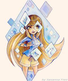Lolirock. Talia. by FreeSavanna on DeviantArt