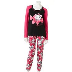 Disney Such a Character Pajama Set marie Aristocats