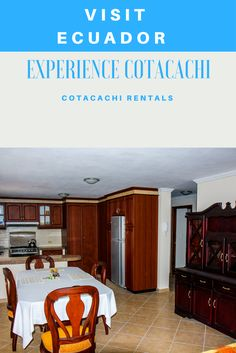 Visit Ecuador and rent a fully furnished condo in a secure gated condo complex. Condo has 1271 Square feet, 3 bedroom, 2 full baths, 1 half bath. Fully furnished, washer/dryer, heater, hot water, Roku TV and internet. Make your reservation today!