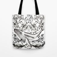 Tote Bag featuring My World by Melissa Arbelaez