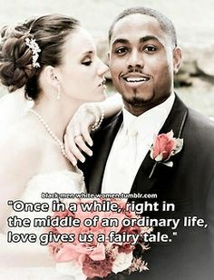 Councel to interracial dater
