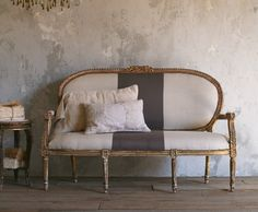 an idea for recovering our antique settee