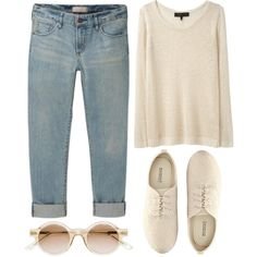 """""""simple look"""" by rosiee22 on Polyvore"""