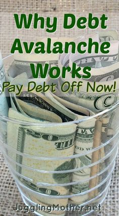 By organizing your bills and debts and using a systematic method to pay them off, you can pay them faster.  A payment system known as Debt Avalanche is my favorite.