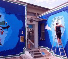 Murales alla Scuola Materna di San Vito - 2014