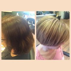 Before & After! Box Color to Elumen Highlights!