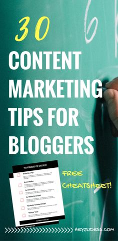 30 content marketing tips for bloggers | blogging for beginners | how to start a blog | blogging tips and tricks